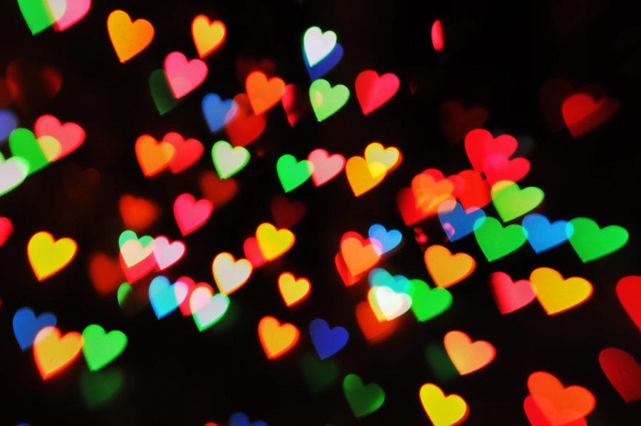 Heart Bookeh Autor: LDFranklin http://ldfranklin.deviantart.com/art/Heart-Bokeh-Texture-4-190290714