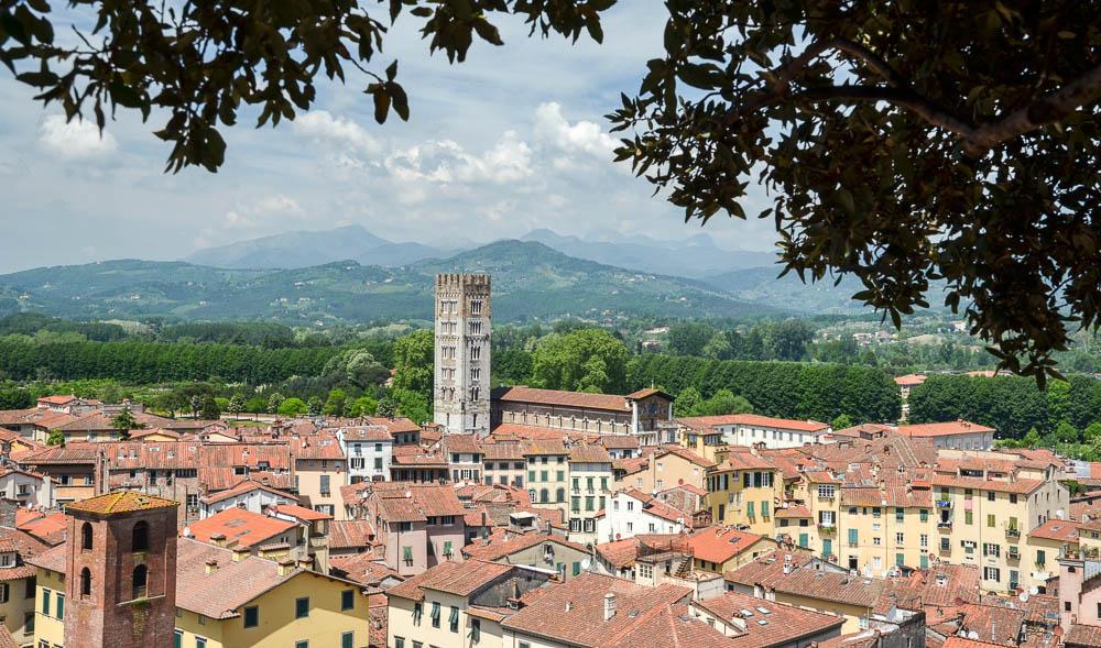 Panorama města Lucca