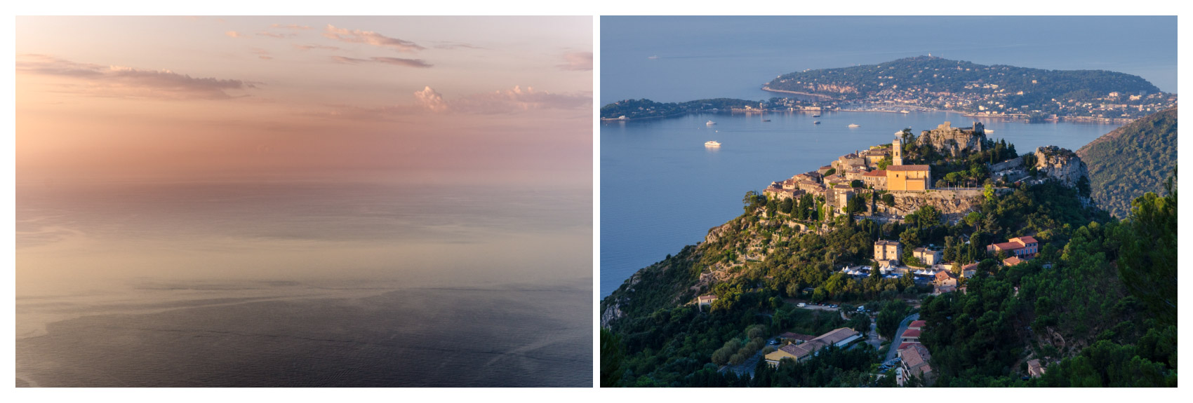 Ranní moře, aneb příběh dvou fotografií