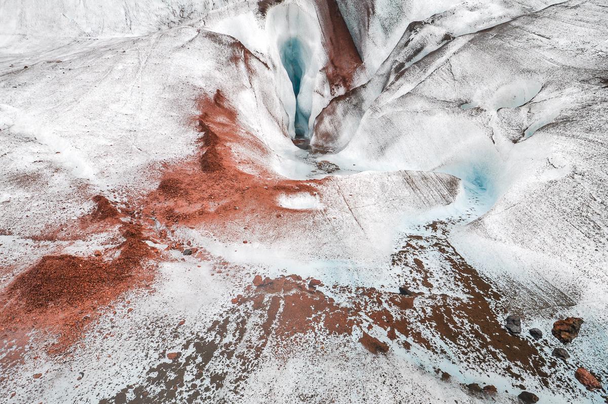 Island, ledovec