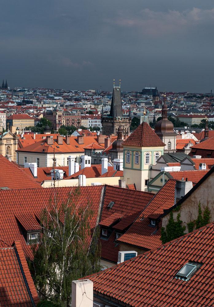 Pražské střechy