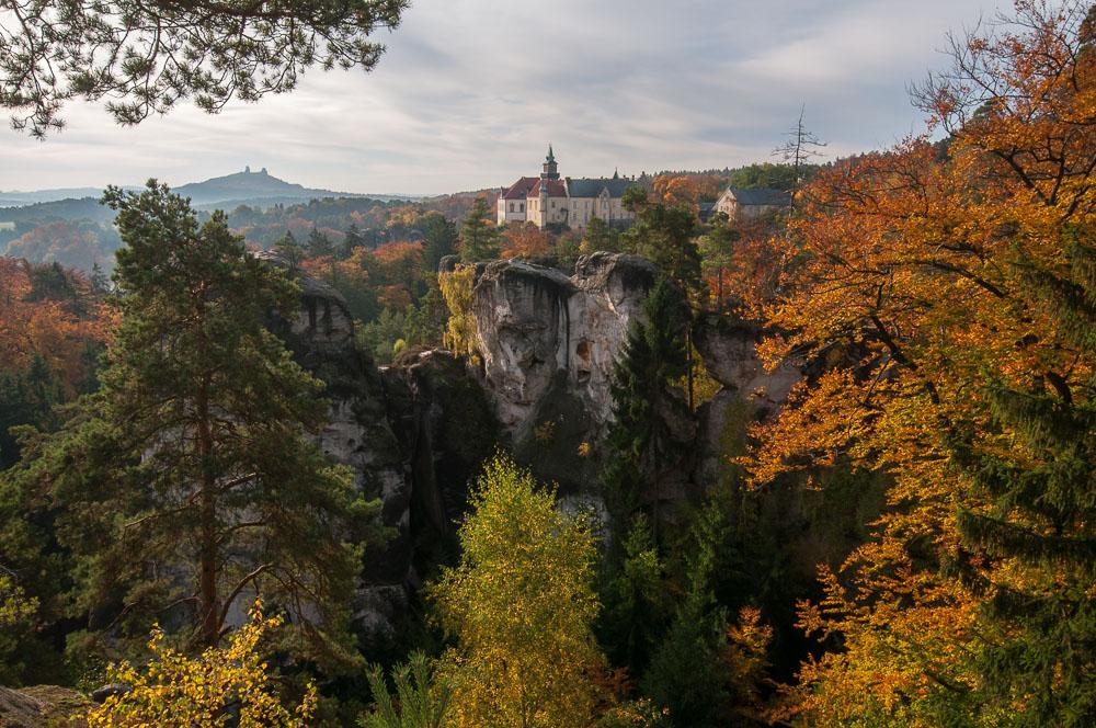 Podzimní Hrubá skála