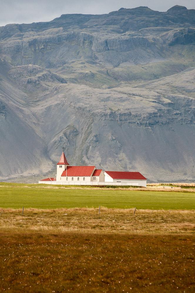 Islandský kostelík