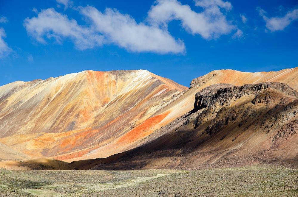 Altiplano - náhorní plošina v Chile a Bolíviji je jeden (téměř) nekonečný fotografický ráj