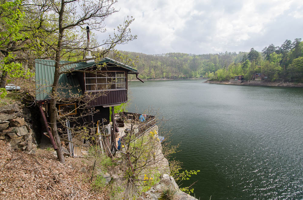 Krásná chaloupka nad Vranovskou přehradou - sám jsem byl překvapen, kolik fotografických námětů jsem tu během víkendu našel
