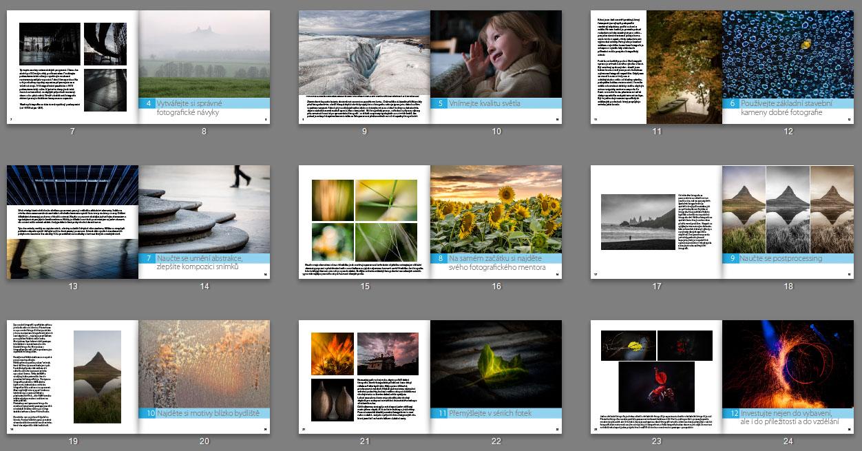 Náhled z ebooku 15 Rad, jak se stát lepším fotografem