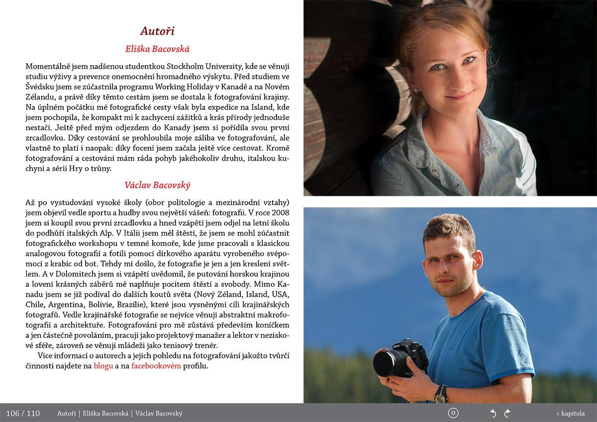 O autorech-Fotopruvodce nejen pro fotografy o Rocky Mountains (Skaliste hory) - Kanada