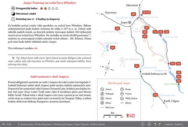 Infografika - Fotopruvodce nejen pro fotografy o Rocky Mountains (Skalisté hory) - Kanada