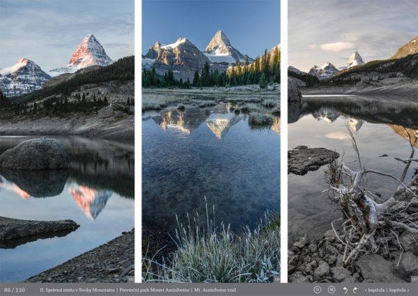 Mt.Assiniboine-Fotopruvodce nejen pro fotografy o Rocky Mountains (Skaliste hory) - Kanada