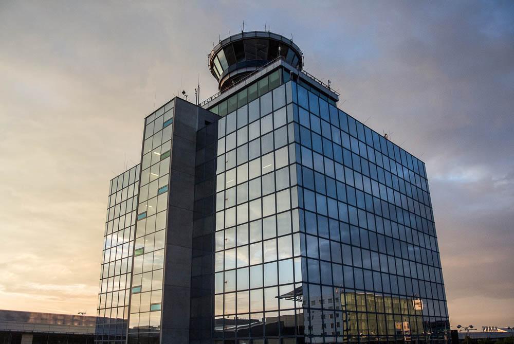 I na letišti se dá zajímavě fotit, obzvlášť, pokud přeje světlo.