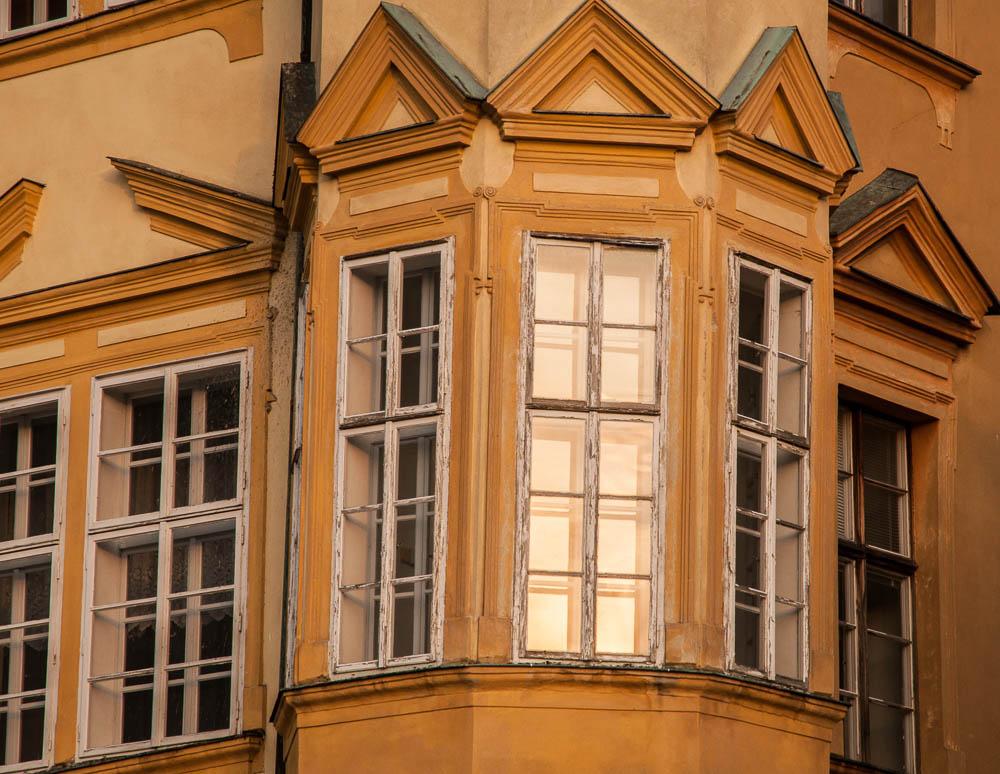 Jičínský zámek - detail renesančních oken