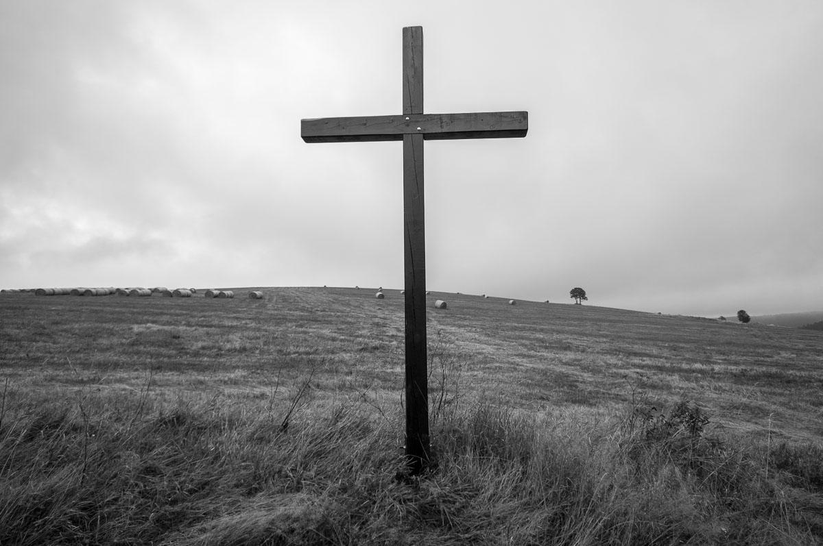 Kříž u cesty k osadě Königsmüle