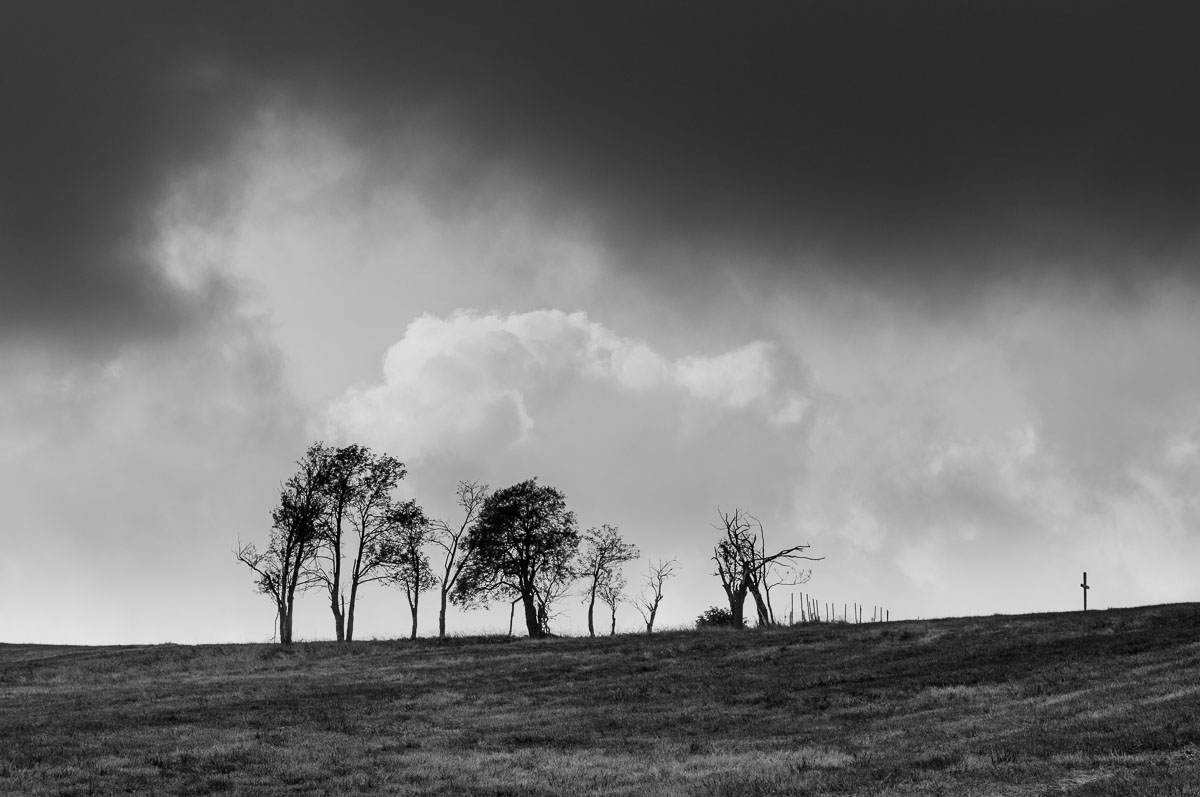 Smutné Krušné hory a (skoro) zmizelá osada Königsmühle