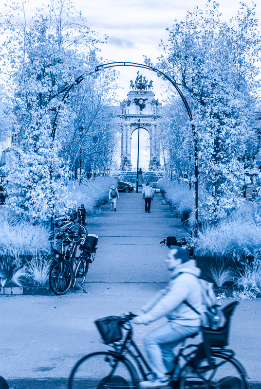 Brusel - pohled k Jubelparku