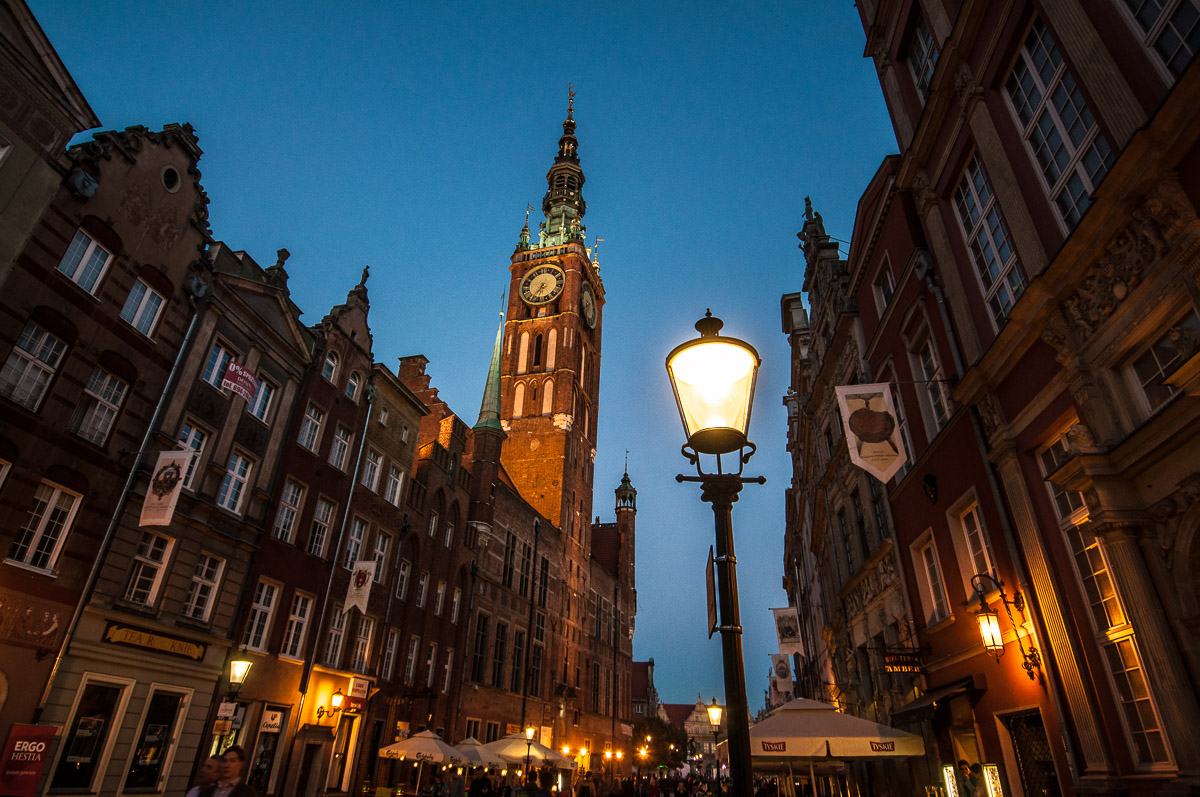 Gdaňsk - pohled na radnici