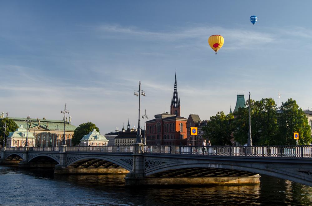 Fotografujeme Stockholm