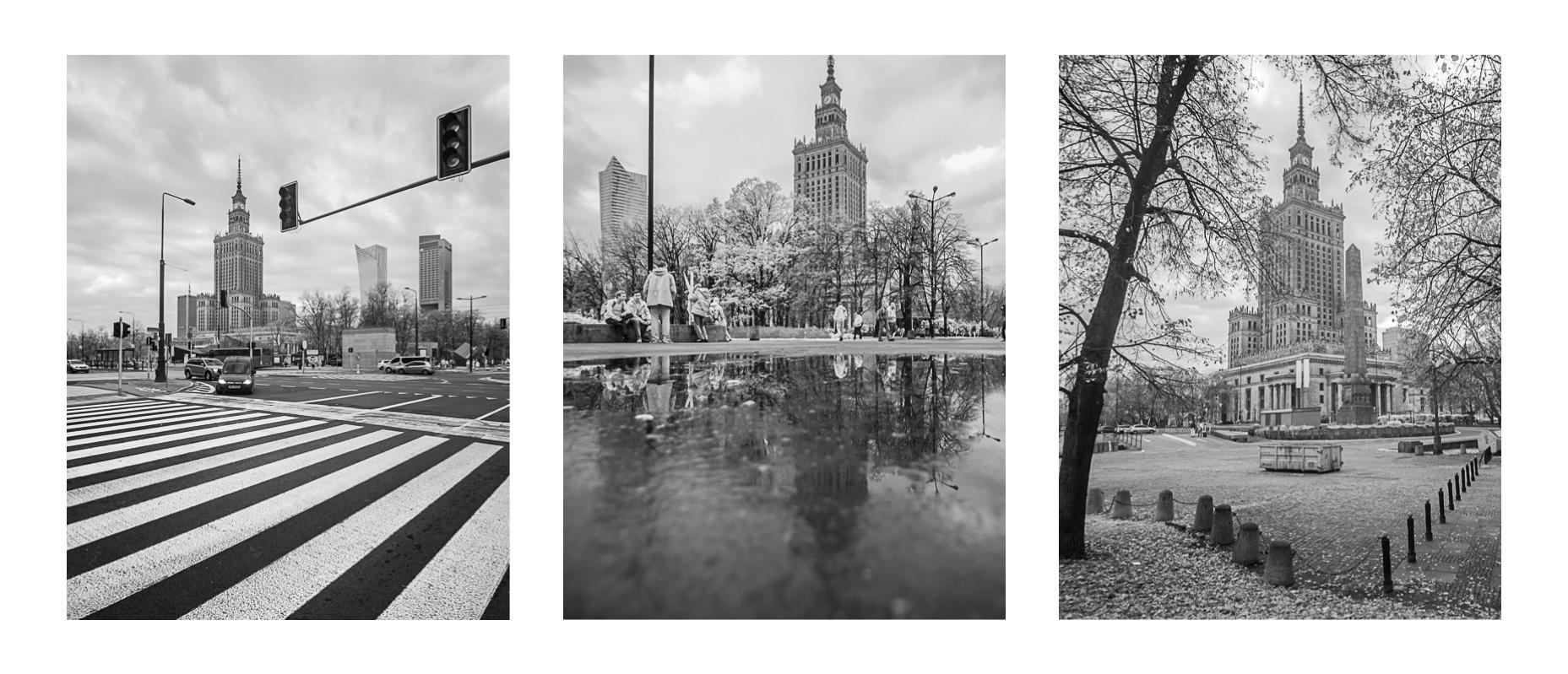 Varšava – stalinistická stavba jako skvělý fotomotiv