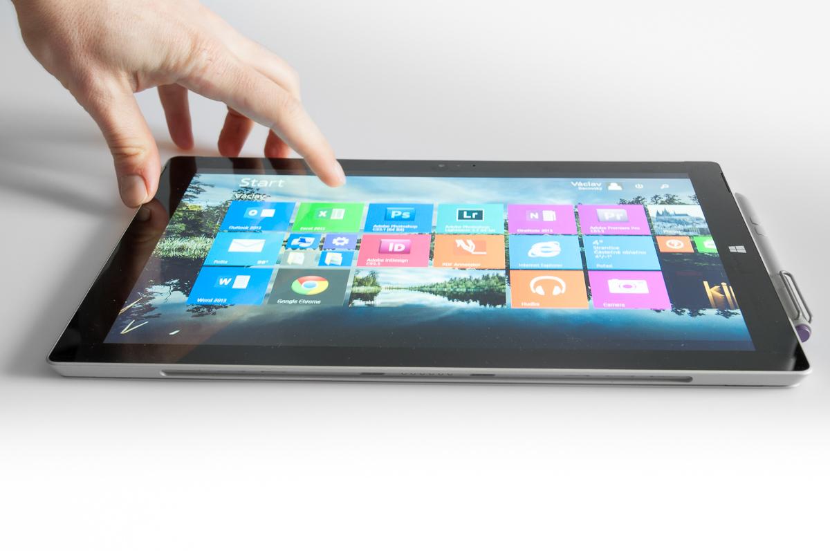 První měsíc sMicrosoft Surface Pro 3: uživatelská recenze