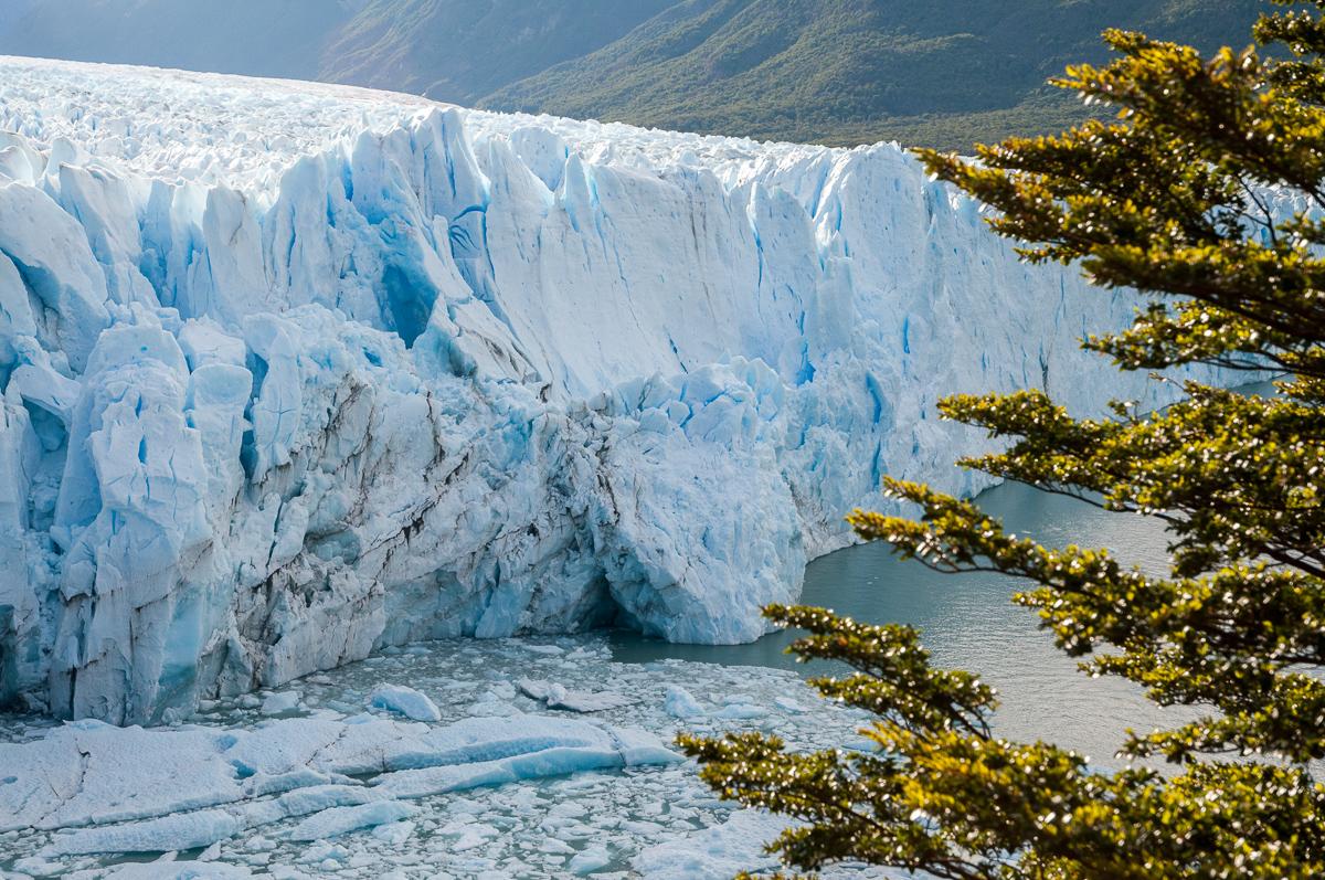 Ledovec Perito Moreno (Argentina)