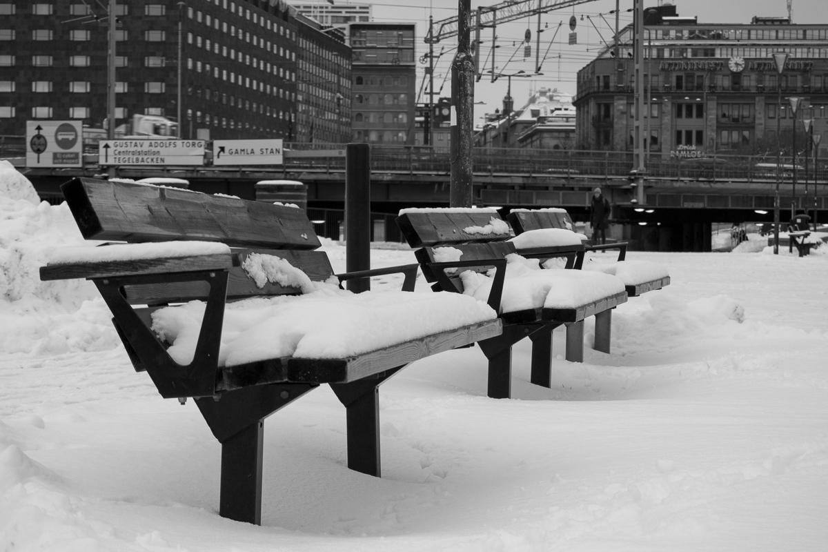 Opuštěné lavičky