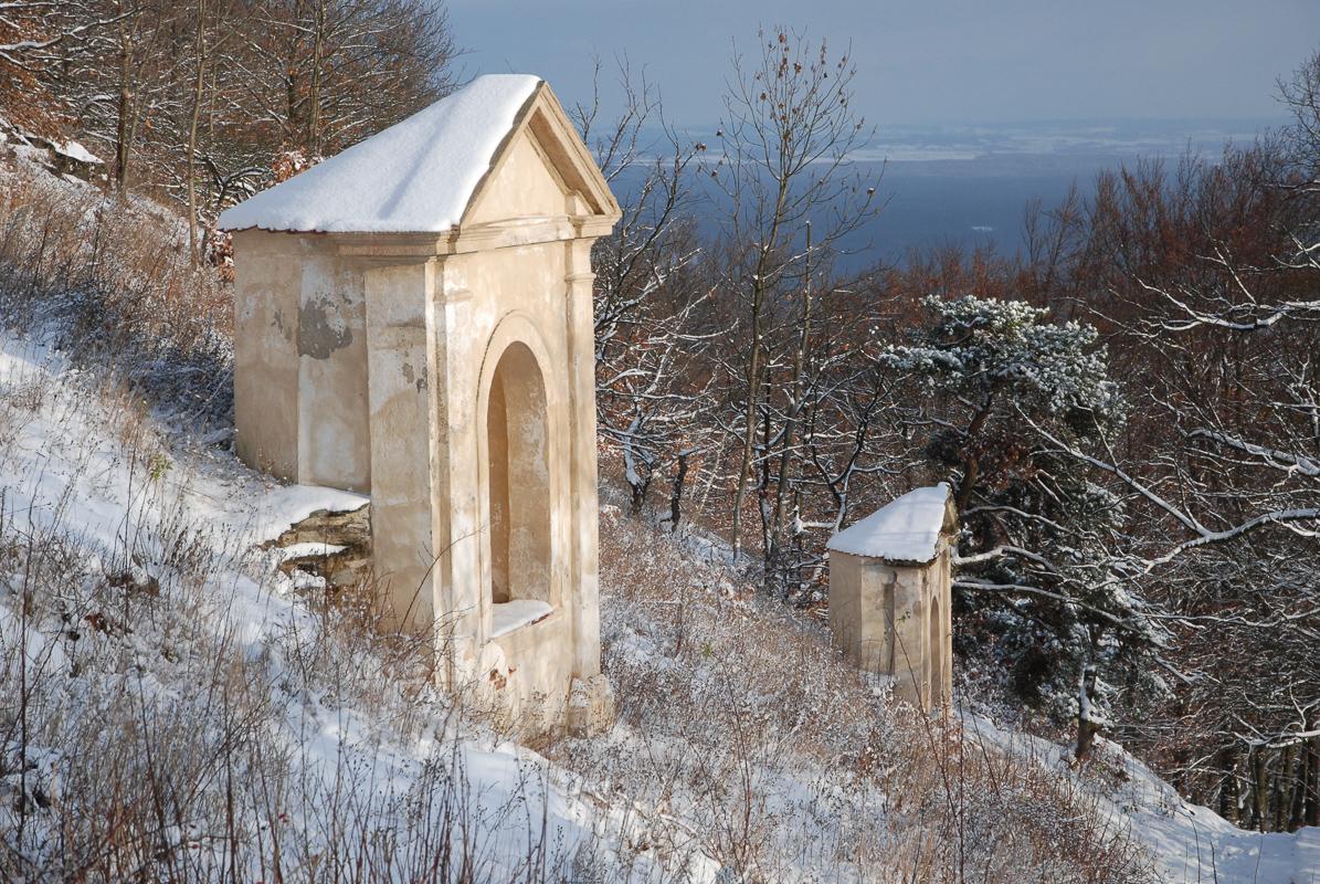 Křížová cesta na hrad Bezděz