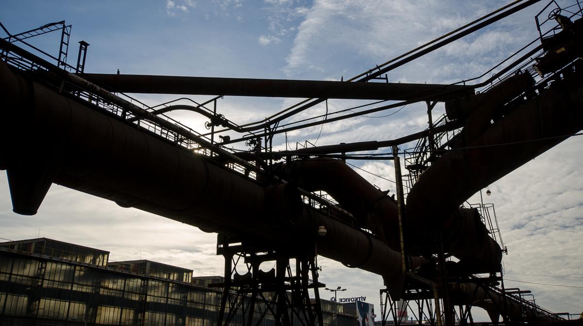 Industriální linie ve Vítkovicích