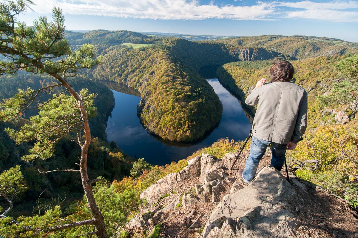 Vyhlídka Máj - buďte připraveni, že tu často bývají turisté a další fotografové