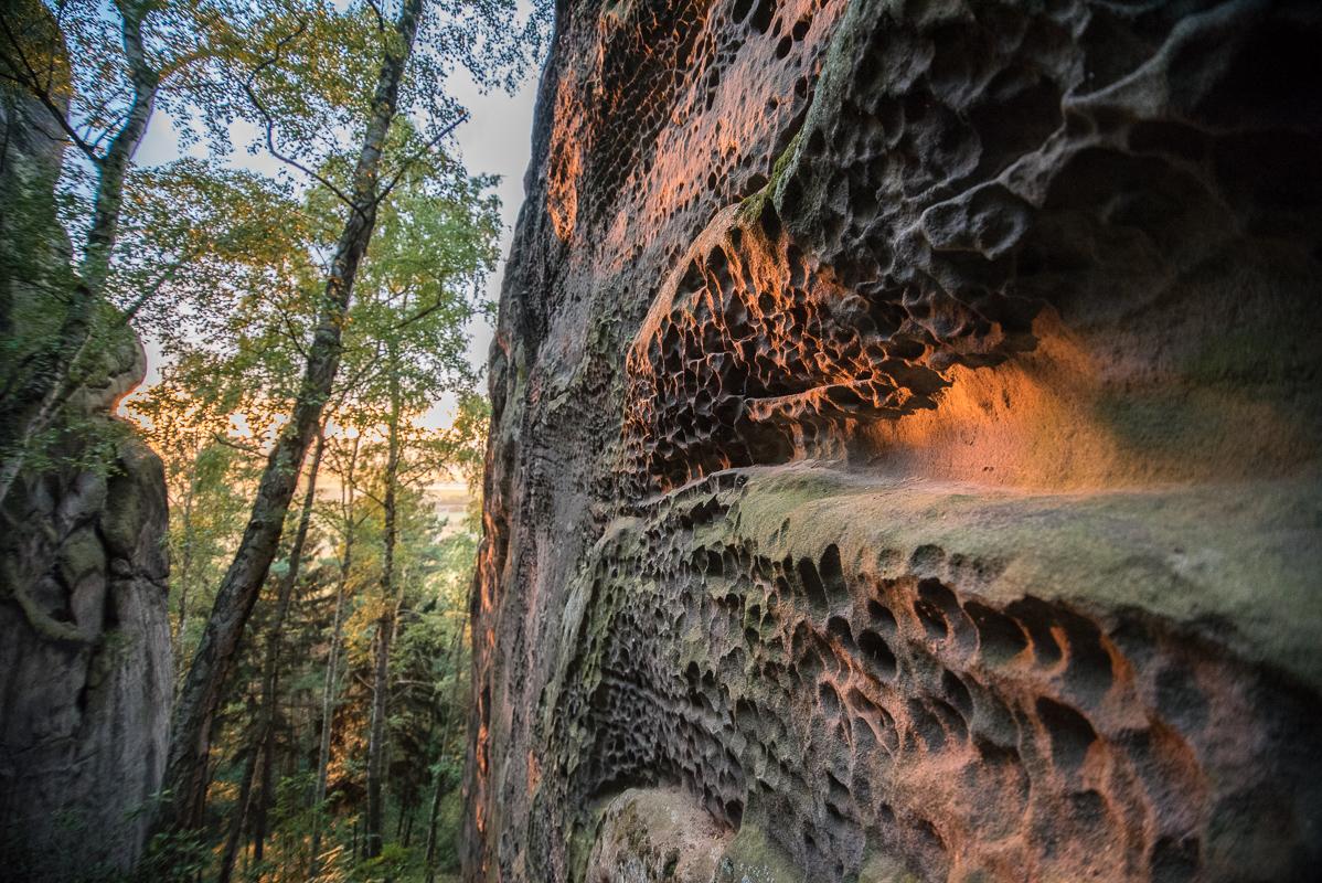 Voštiny ve skalách