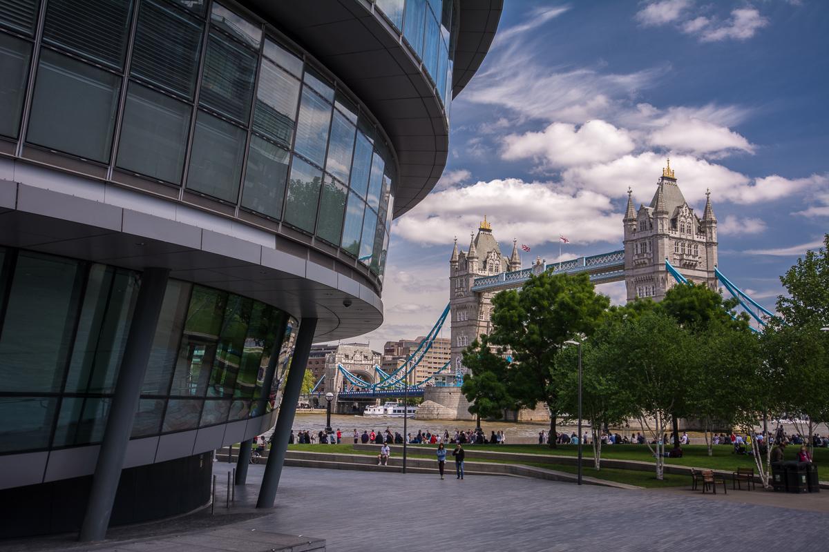 Londýn – moderní architektura City a South Bank