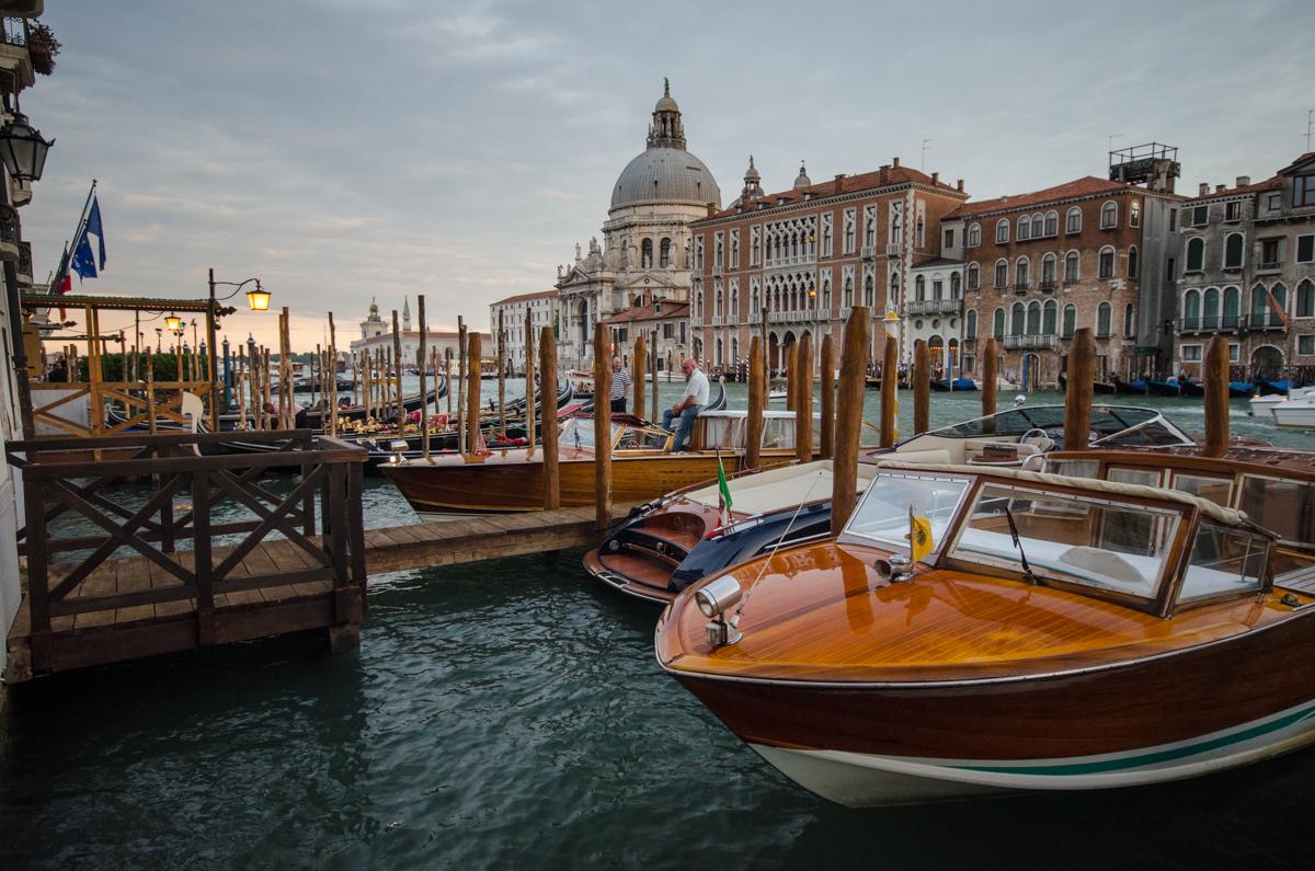 Podvečerní focení v Benátkách