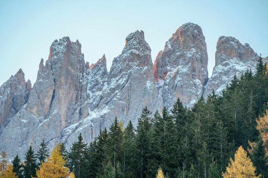 Odler range, Dolomitit