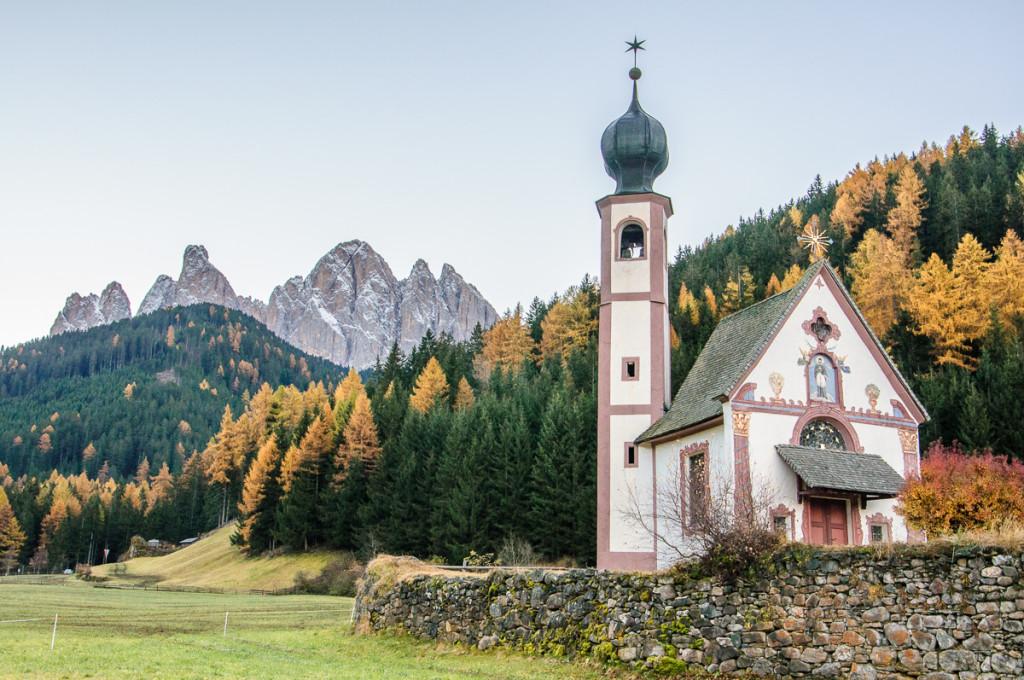 Santa Magdalena, Italy, Odler range, Dolomiti