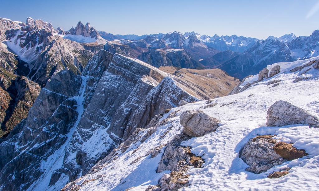 Dolomiti, Dürrenstein, view, panorama, Dreizinnen, Tre Cime di Lavaredo