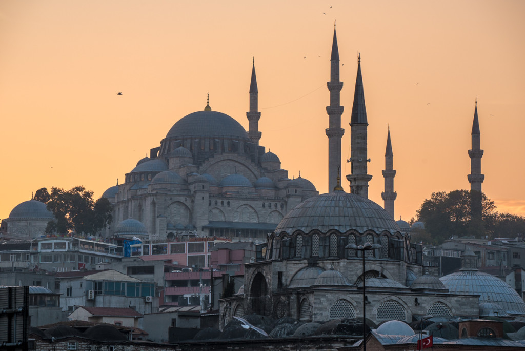 Istanbul-Turecko-mesita-Sulejman