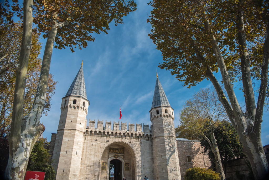 Istanbul-Turecko-Topkapi-brána