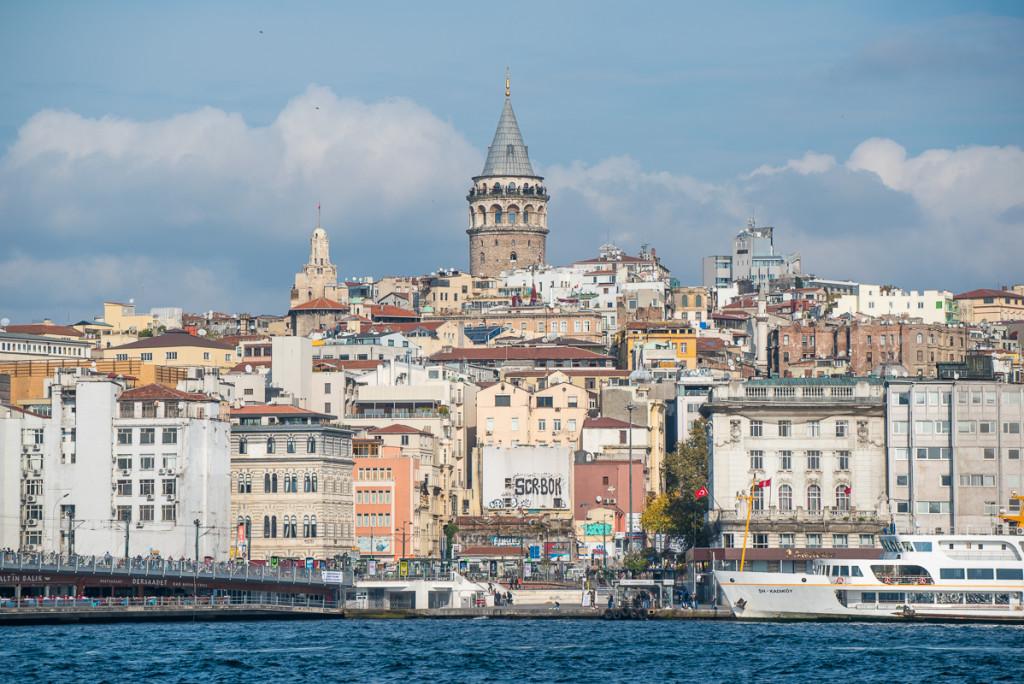 Istanbul-Turecko-Galata-věž
