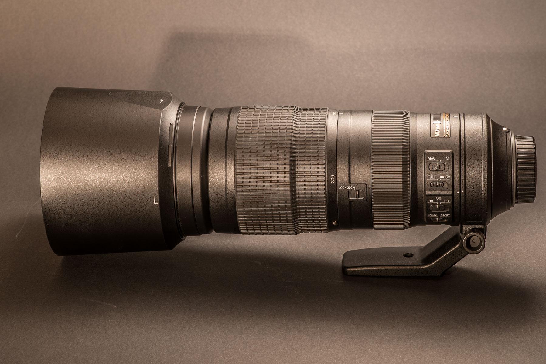 Nový teleobjektiv Nikkor 200-500mm f5.6 VR: první dojmy