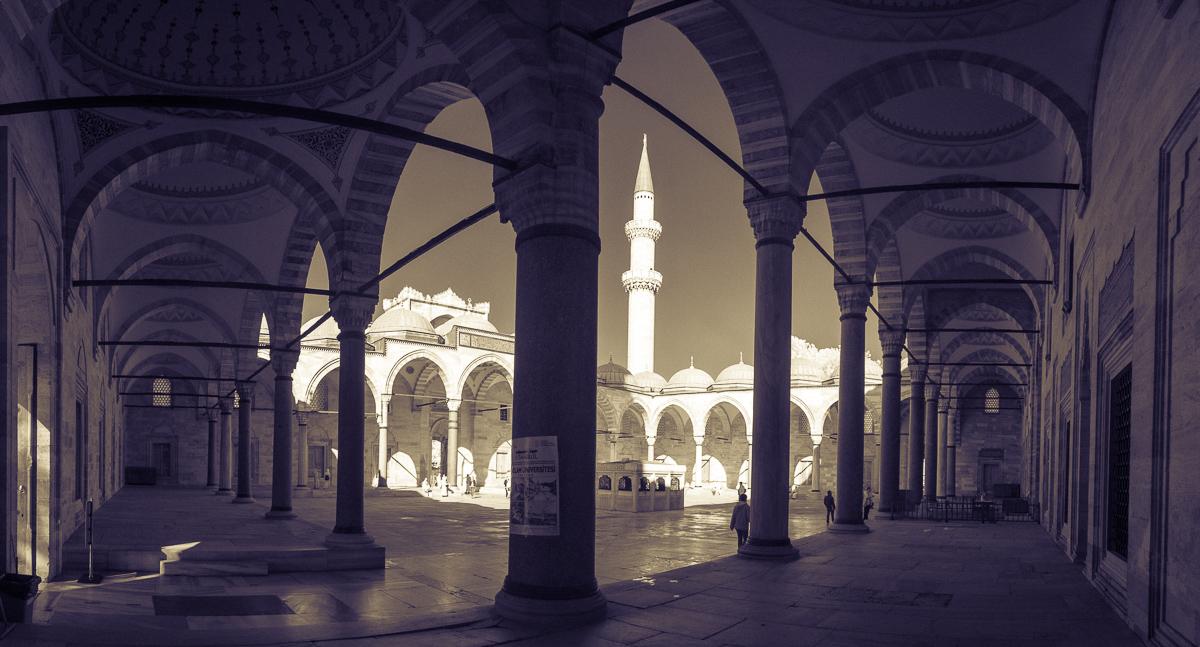 Panorama (z ruky) z Istanbulu