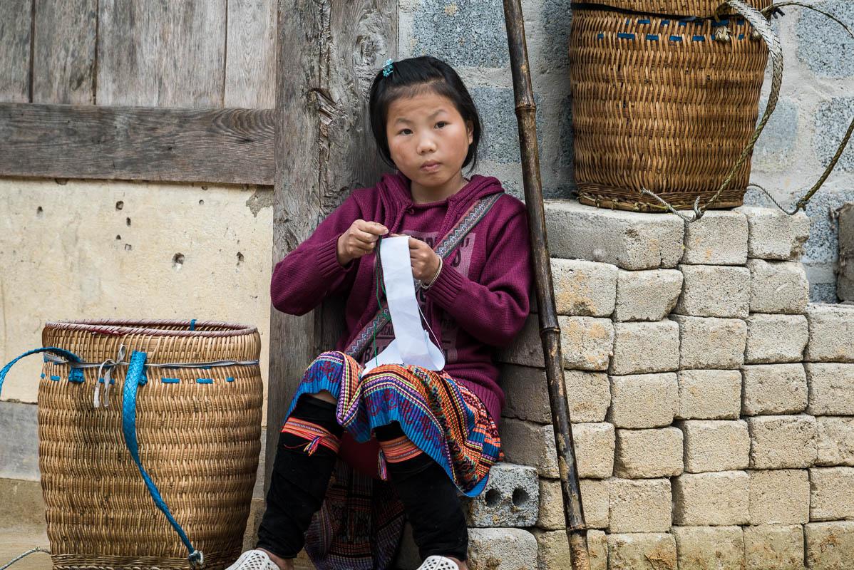Vietnamští Hmongové v okolí Sa Pa