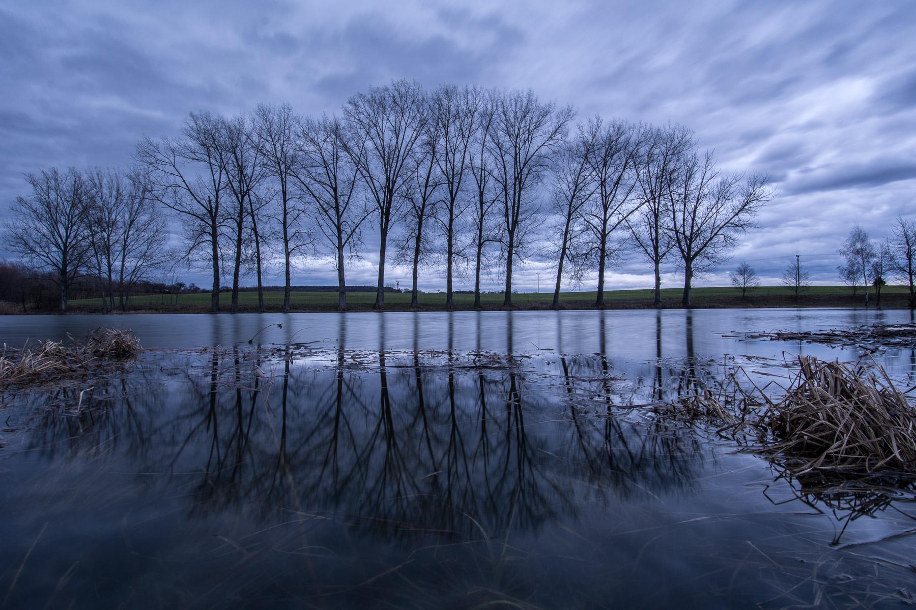 Zimní Česká ráj – když se honí černá mračna