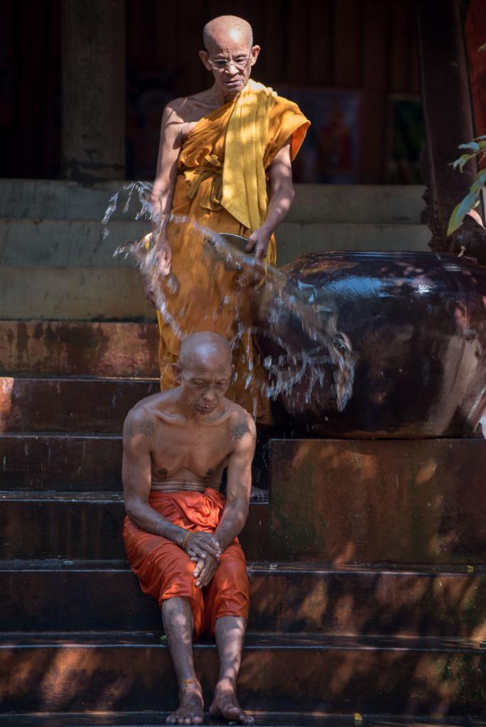 Budhističtí mniši