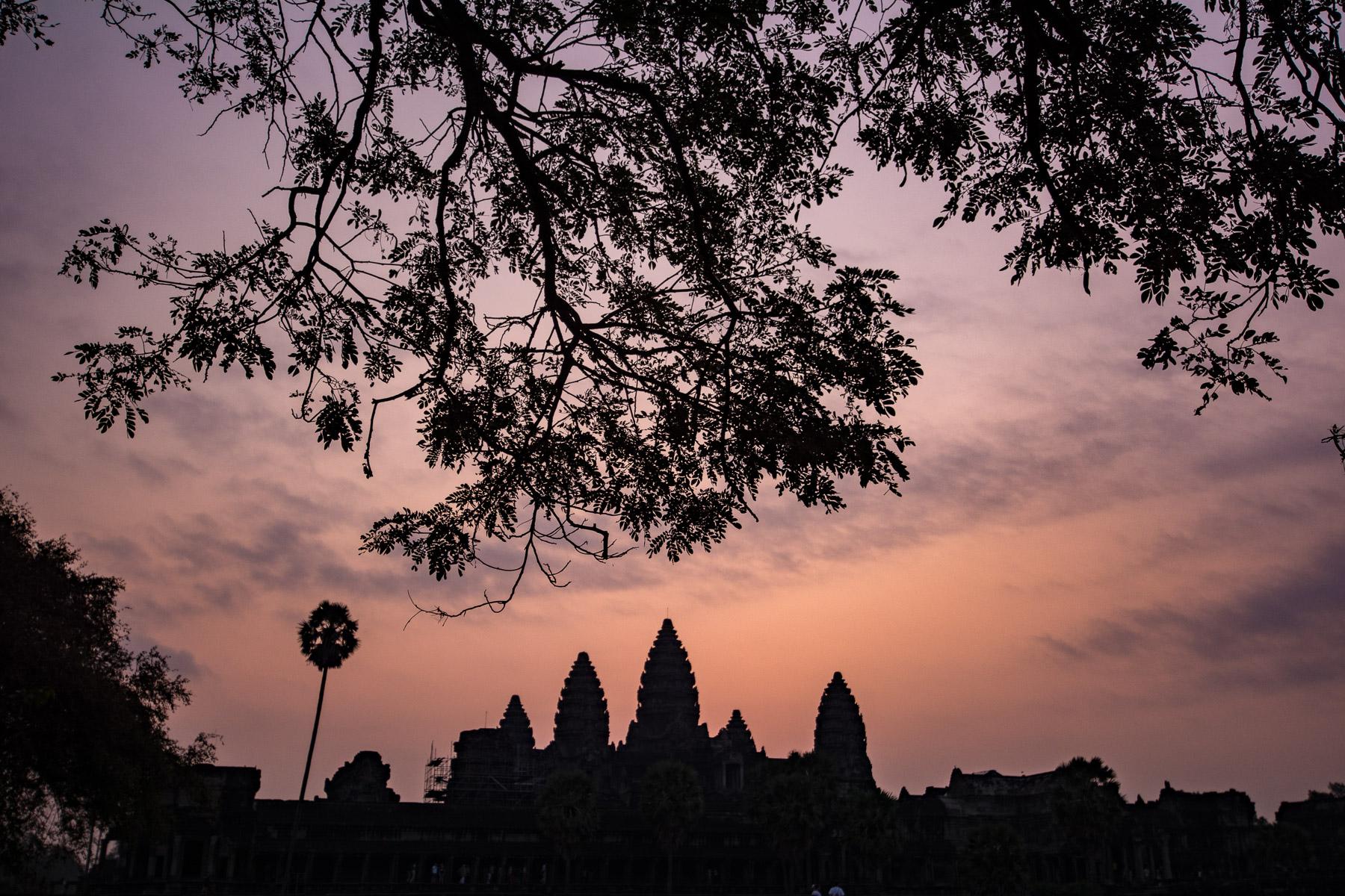 Kambodžská perla Angkor Vat – fotograf mezi selfíčkáři