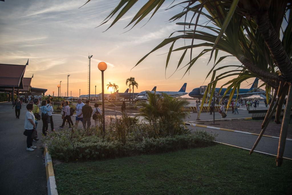 Ta Prohm, Angkor Vat, Kambodža, Cambodia Siem Reap, letiště