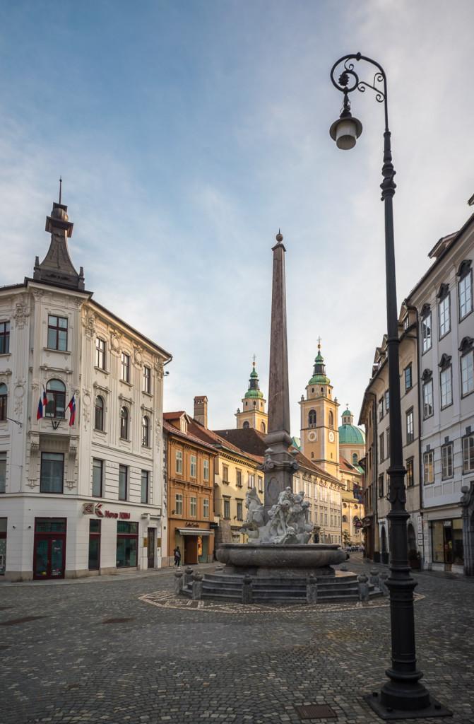 Lublaň, Ljubljana, Oldtown, město, centrum