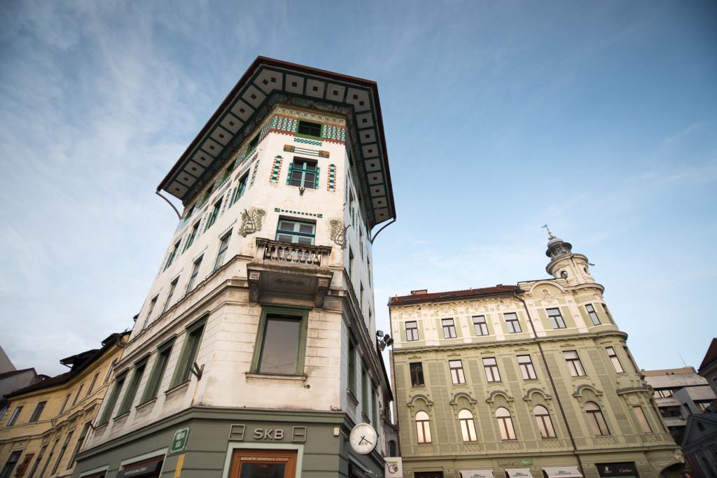 Lublaň, Ljubljana, Oldtown, město, centrum, Plečnik, Prešerenovo náměstí, Plečnik