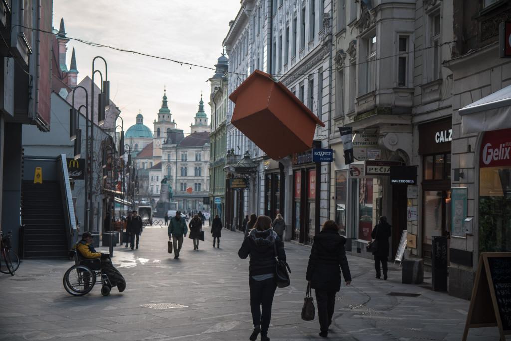 Lublaň (Slovinsko): Čopova ulica