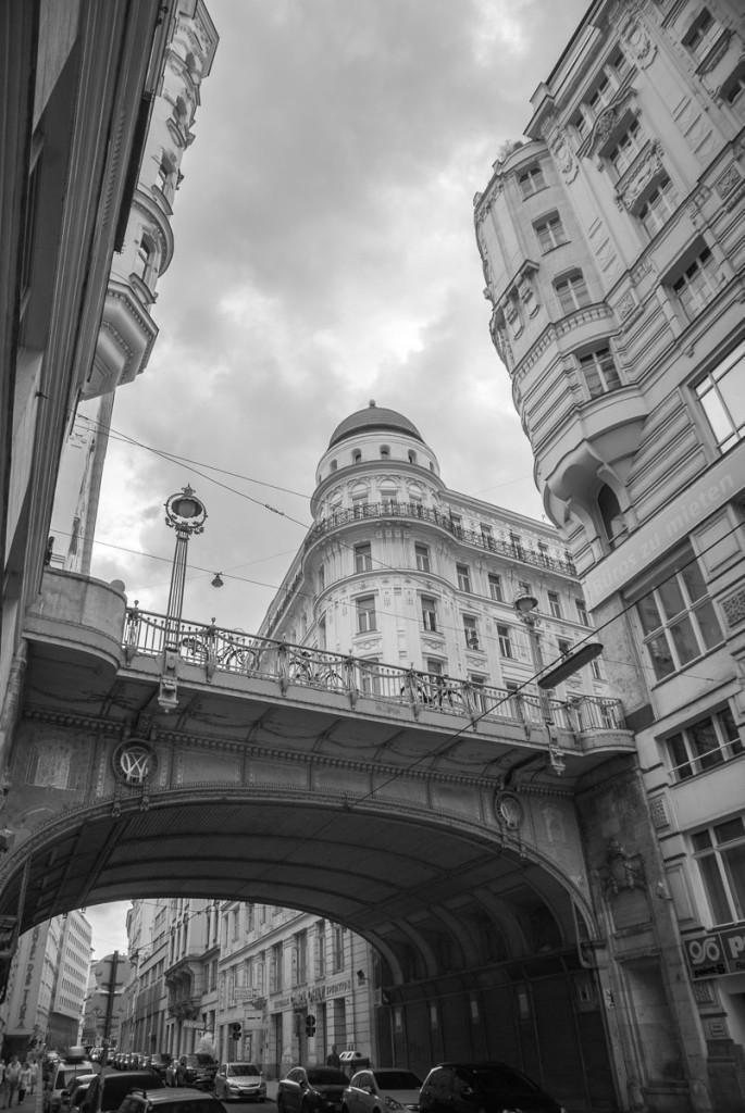 ulice ve Vídni