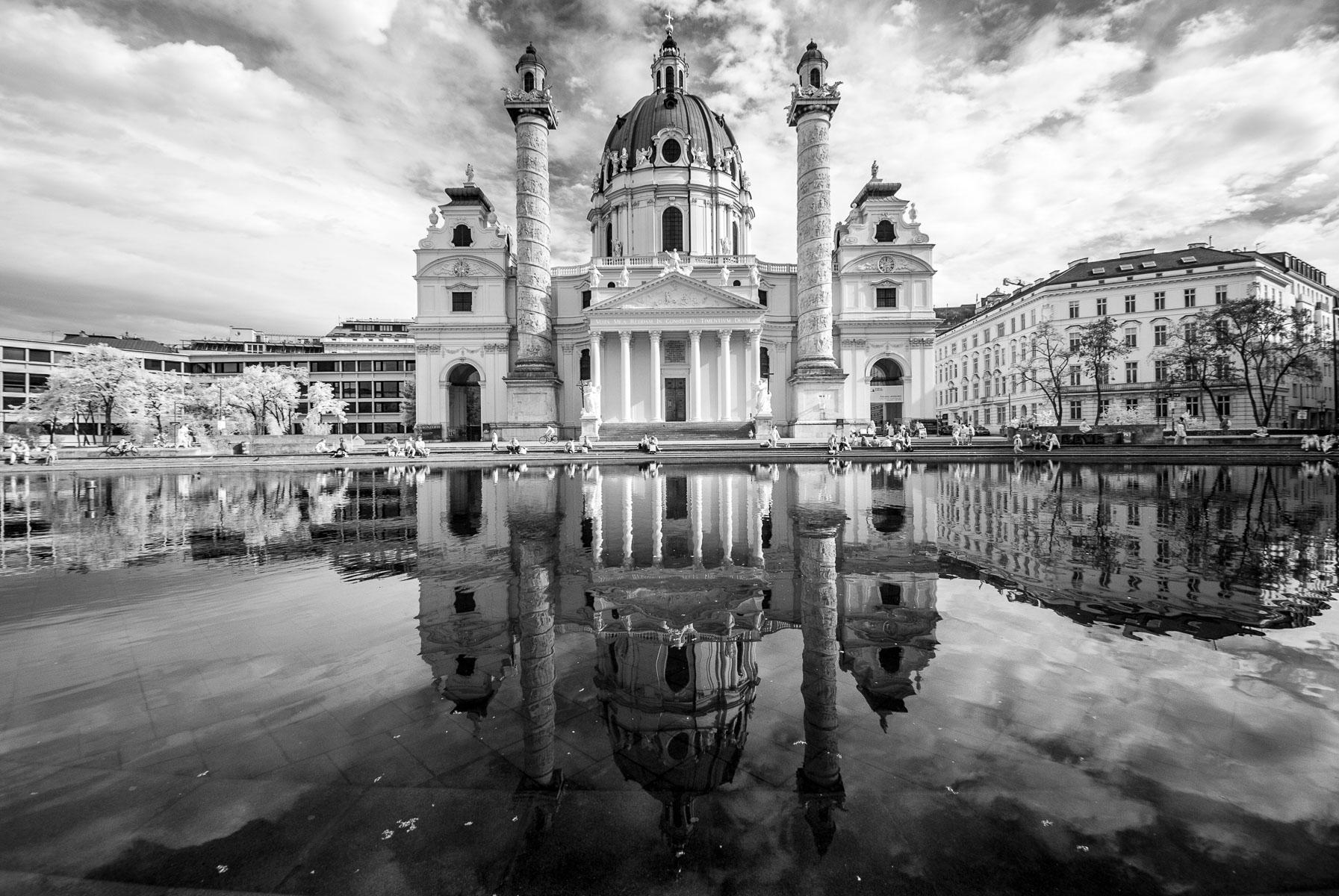 Fotografování v centru Vídně