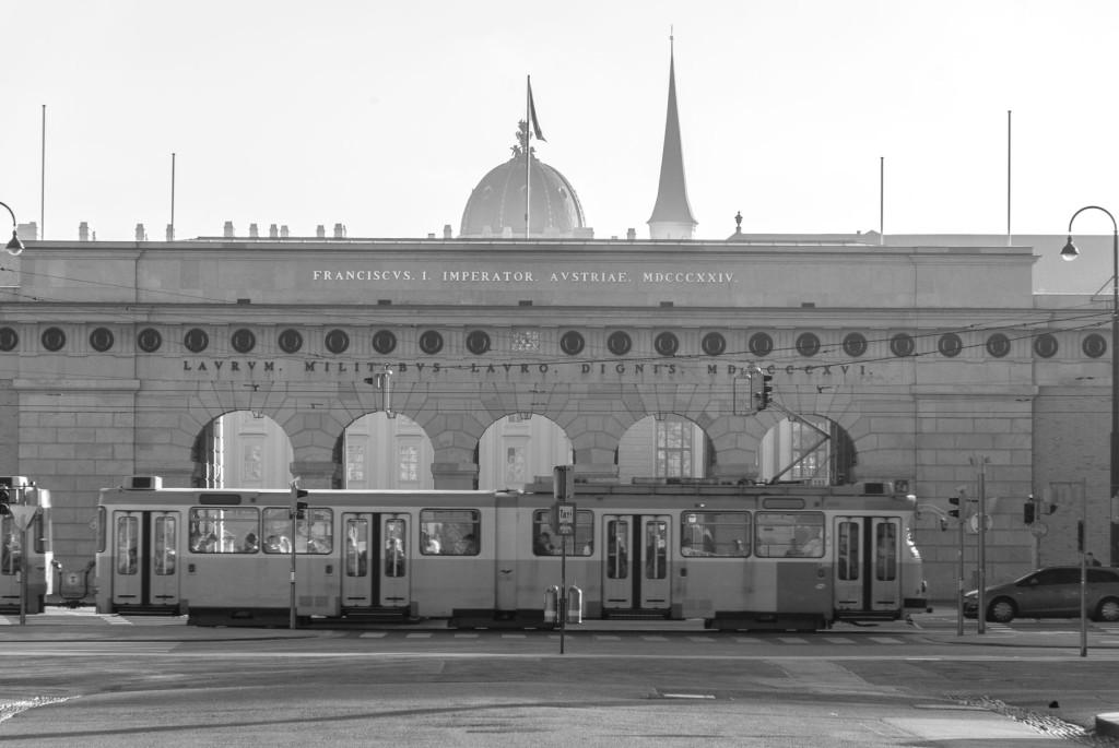 Burgtor, Hofburg, Vídeň