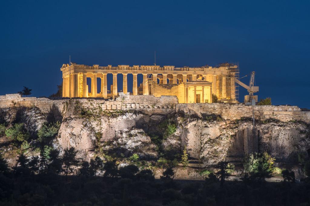 Atény, Akropole, Řecko, antika, architekrura